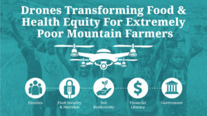 Drones transforming food and health equity
